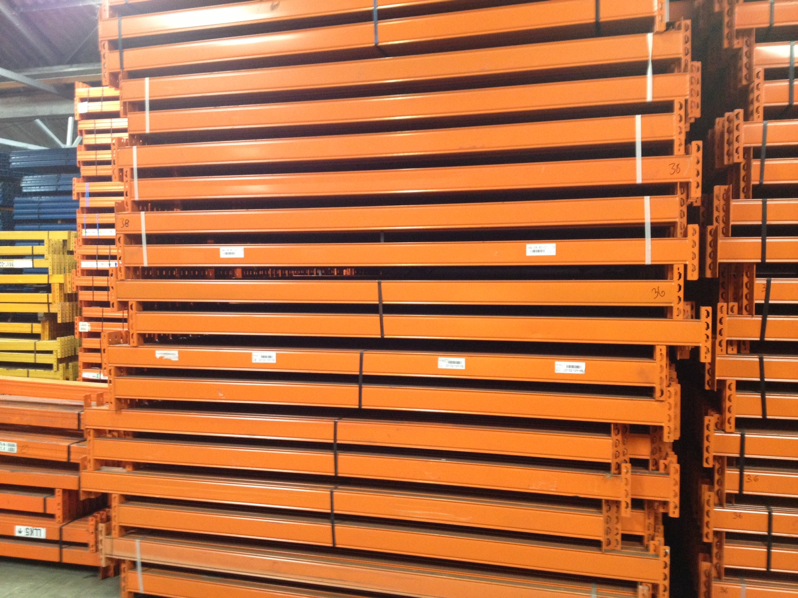 Used Pallet Racking - Stow, used stow pallet racking