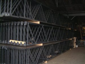 Used Link 51 pallet racking frame