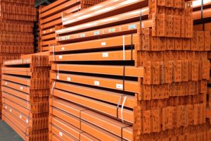 Used Stow Pallet Racking Beam