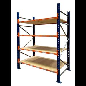 Used PSS warehouse longspan shelving, Used Longspan Shelving Frame, Used Longspan Shelving Level, Used PSS longspan shelving, warehouse racking, hand loaded, industrial racking