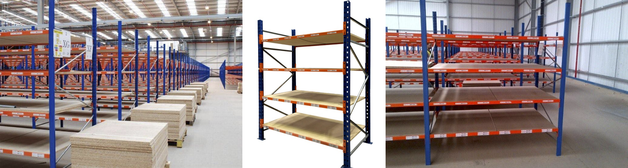 Used longspan shelving