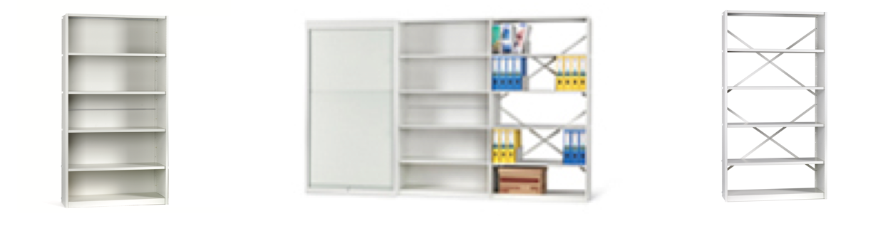 Steel Shelving Header