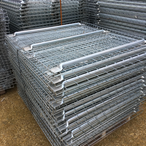 Used wire mesh decking, used PSS pallet racking