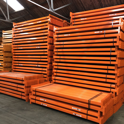 Industrial racking installations