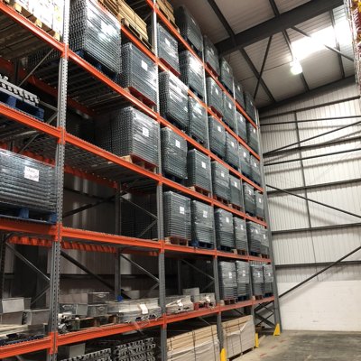 How do I sell pallet racking?