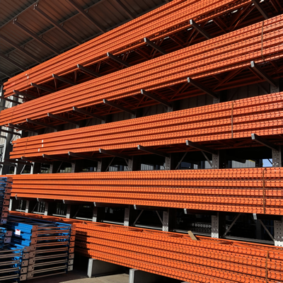 Warehouse racking deliveries