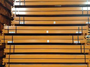 Used Apex pallet racking beam