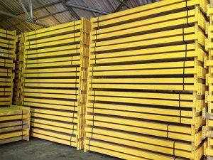 Used Link 51 pallet racking beam