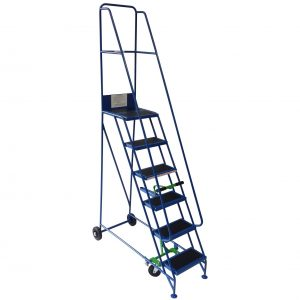 Narrow aisle mobile steps - Lightweight