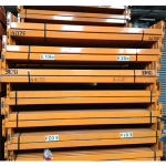 Used Dexion Speedlock pallet racking beam