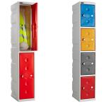 Full Height Warehouse Plastic Locker