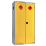 Large Hazardous Cabinet - 8 Compartments