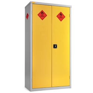 Large Hazardous Cabinet - 8 Compartments