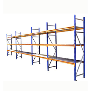Hand loaded racking bays