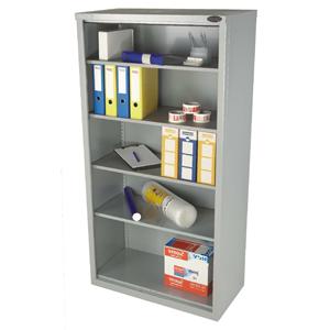 Open industrial cupboard