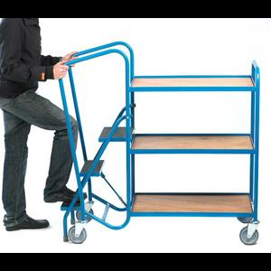 Warehouse Order Picking Trolley