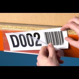 Self-adhesive ticket holder
