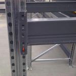 SpeedRack weatherproof pallet racking beam