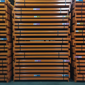 Industrial racking offer - 6 bays of used pallet racking