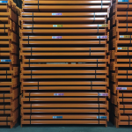 Industrial racking offer - 3 bays of used pallet racking