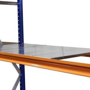 Longspan steel shelves