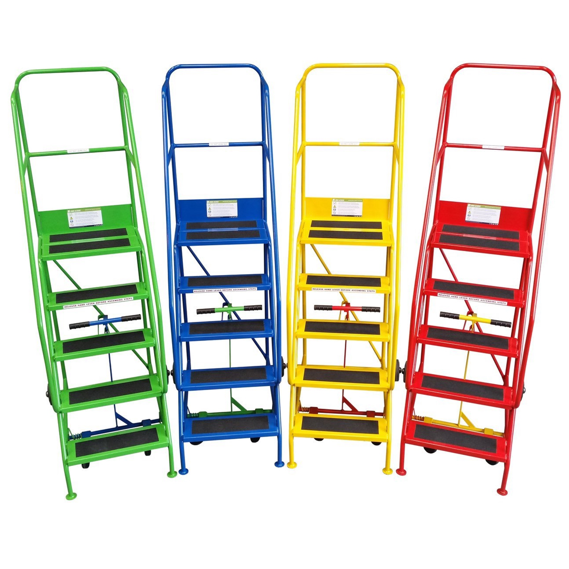 We also sell lockers, warehouse steps and specialist cabinets