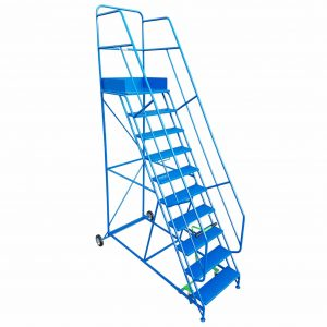 heavy duty mobile warehouse safety steps