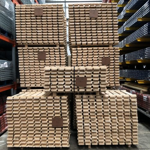 used pallet racking decking boards