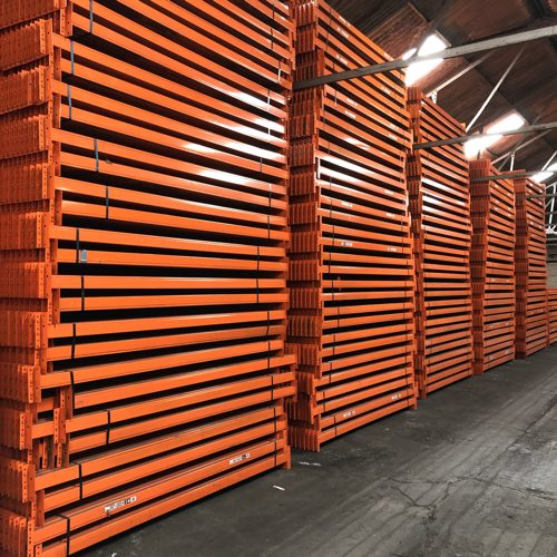 Second hand warehouse racking availability