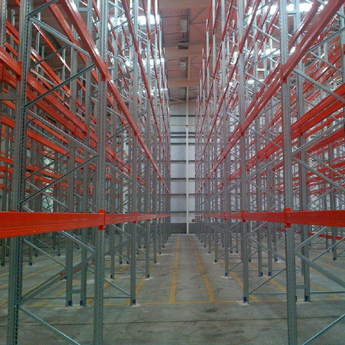 Warehouse racking installation