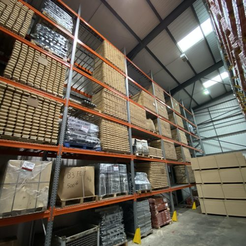 Warehouse racking accessories