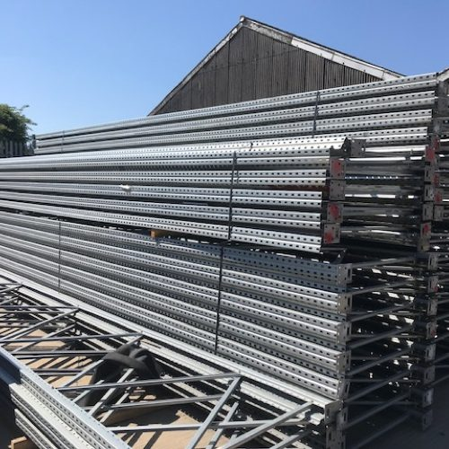 We buy used warehouse racking