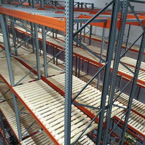 Who can install used pallet racking for us?