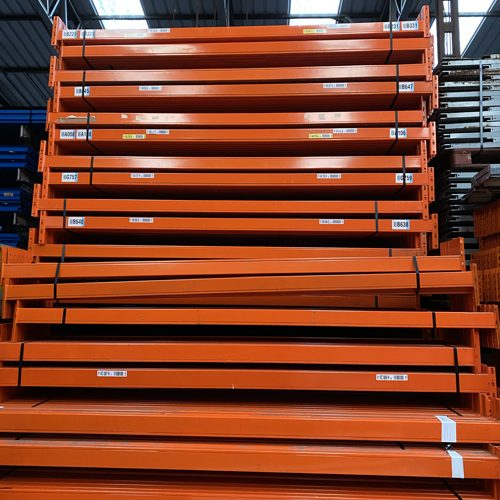 used pallet racking beams