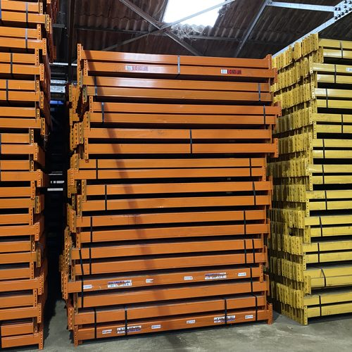 who buys used pallet racking